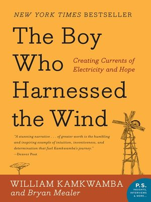 cover image of The Boy Who Harnessed the Wind